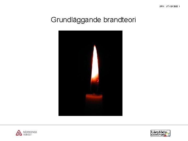 SRV JT LB 2002 1 Grundlggande brandteori SRV