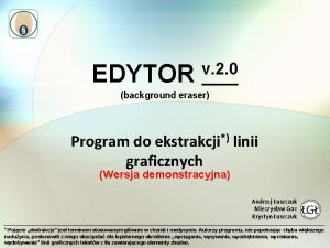 EDYTOR v 2 0 background eraser Program do