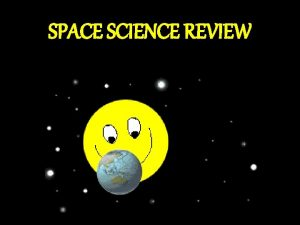 SPACE SCIENCE REVIEW Category Category 1 2 3