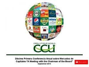 Dcimo Primera Conferencia Anual sobre Mercados de CapitalesA