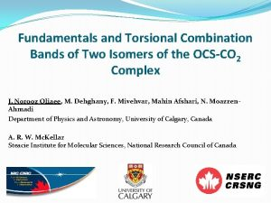 Fundamentals and Torsional Combination Bands of Two Isomers