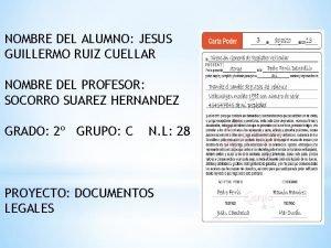 NOMBRE DEL ALUMNO JESUS GUILLERMO RUIZ CUELLAR NOMBRE