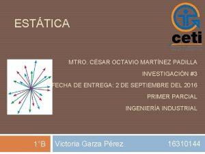 ESTTICA MTRO CSAR OCTAVIO MARTNEZ PADILLA INVESTIGACIN 3