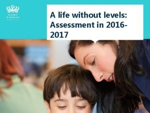 A life without levels Assessment in 20162017 What
