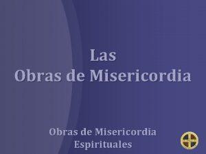 Las Obras de Misericordia Espirituales Corregir al que