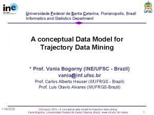 Universidade Federal de Santa Catarina Florianopolis Brazil Informatics