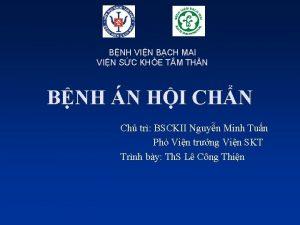 BNH VIN BCH MAI VIN SC KHE T