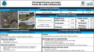 Estrategia Parques para todos FICHA DE CARACTERIZACIN IMGENES