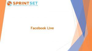 Facebook Live How to broadcast Facebook Live via
