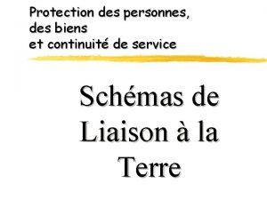 Protection des personnes des biens et continuit de