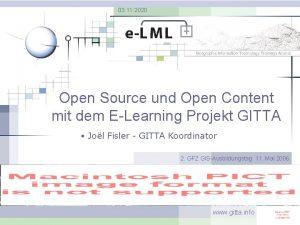 03 11 2020 Open Source und Open Content