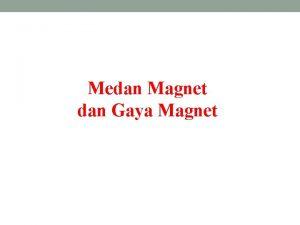 Medan Magnet dan Gaya Magnet Lodestone Magnetite 3