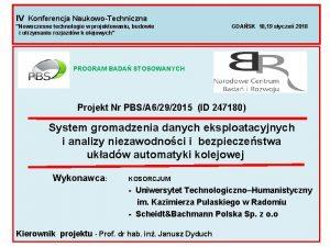 IV Konferencja NaukowoTechniczna Nowoczesne technologie w projektowaniu budowie