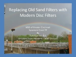 Replacing Old Sand Filters with Modern Disc Filters