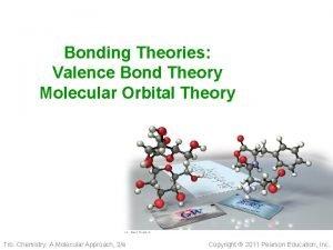 Bonding Theories Valence Bond Theory Molecular Orbital Theory