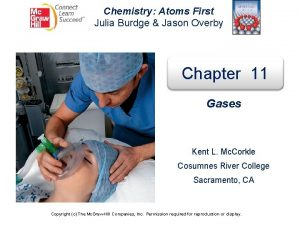 Chemistry Atoms First Julia Burdge Jason Overby Chapter