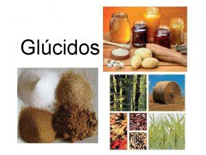 Glcidos Concepto Los glcidos son biomolculas formadas bsicamente