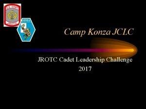 KONZA Camp Konza JCLC JROTC Cadet Leadership Challenge