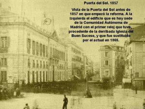 Puerta del Sol 1857 Vista de la Puerta