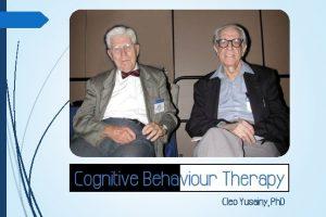 Three Generations of Behaviour Therapy Behaviour 1950 1960
