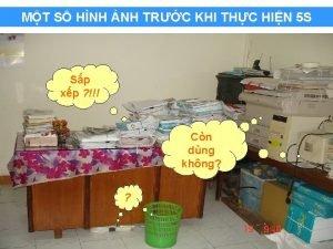 MT S HNH NH TRC KHI THC HIN