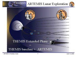 ARTEMIS Lunar Exploration THEMIS Extended Phase THEMIS baseline