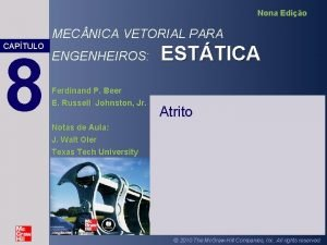 Nona Edio MEC NICA VETORIAL PARA CAPTULO 8