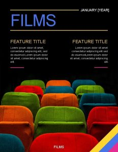 FILMS FEATURE TITLE JANUARY YEAR FEATURE TITLE Lorem
