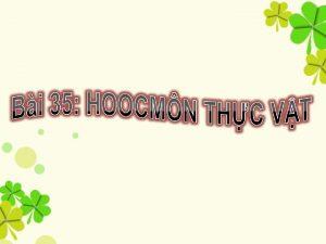 I KHI NIM II HOOCMN KCH THCH III