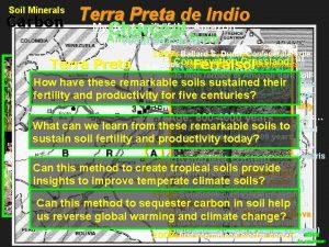 Terra Preta de Indio dark Soil earth Mystery