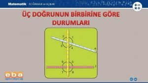 DORULAR ve AILAR DORUNUN BRBRNE GRE DURUMLARI 1