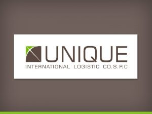 exploring logistic opportunities Our Vision To provide our