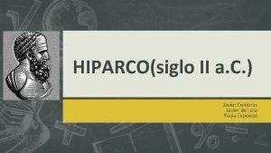HIPARCOsiglo II a C Javier Culebras Javier de