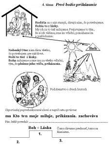 4 tma Prv boie prikzanie Rodiia sa o