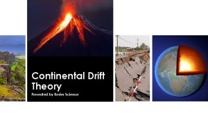 Continental Drift Theory Presented by Kesler Science Essential