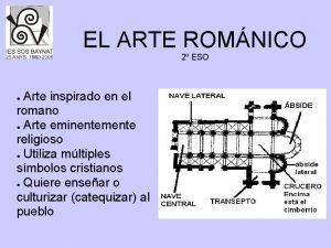 EL ARTE ROMNICO 2 ESO Arte inspirado en
