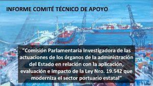 INFORME COMIT TCNICO DE APOYO Comisin Parlamentaria Investigadora