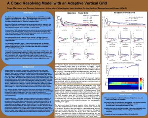 A Cloud Resolving Model with an Adaptive Vertical