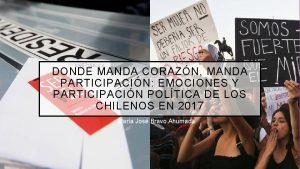 DONDE MANDA CORAZN MANDA PARTICIPACIN EMOCIONES Y PARTICIPACIN