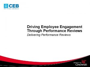 Driving Employee Engagement Through Performance Reviews Delivering Performance