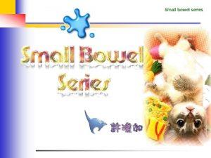 Small bowel series Small bowel series Small Bowel
