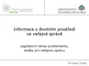 esk informan agentura ivotnho prosted Informace o ivotnm