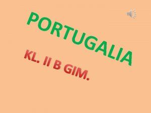 POR TUG KL I IBG IM ALIA Portugalia