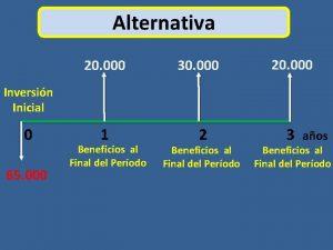 Alternativa 20 000 30 000 20 000 Inversin