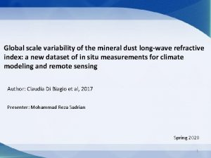 Global scale variability of the mineral dust longwave
