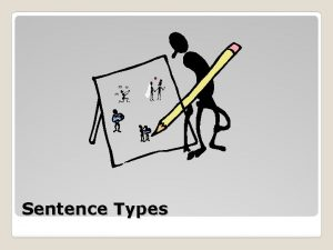 Sentence Types A simple sentence has one subject