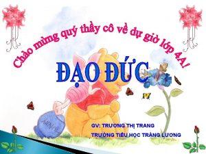 GV TRNG TH TRANG TRNG TiU HC TRNG