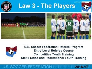 Law 3 The Players U S Soccer Federation