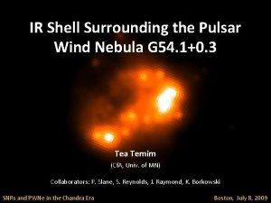 IR Shell Surrounding the Pulsar Wind Nebula G