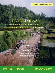 ISBN 978 602 8624 81 7 PENGELOLAAN HUTAN
